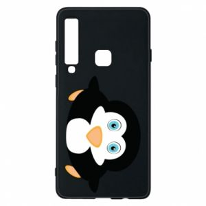 Phone case for Samsung A9 2018 Little penguin looks up