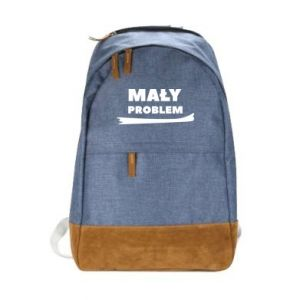 Urban backpack little problem