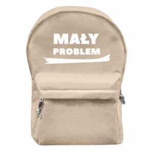 Plecak z przednią kieszenią Mały problem