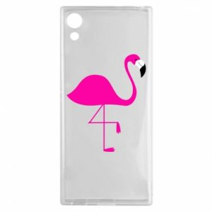 Sony Xperia XA1 Case Little pink flamingo