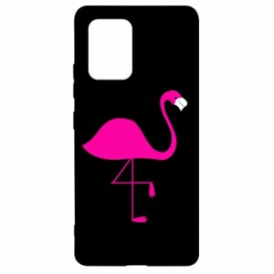 Samsung S10 Lite Case Little pink flamingo