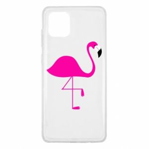Samsung Note 10 Lite Case Little pink flamingo