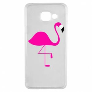 Samsung A3 2016 Case Little pink flamingo