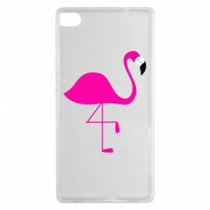 Huawei P8 Case Little pink flamingo