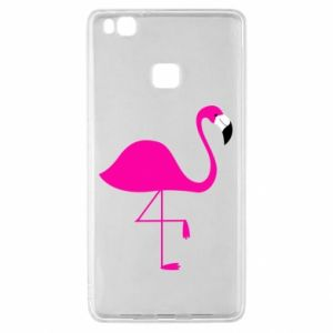 Huawei P9 Lite Case Little pink flamingo