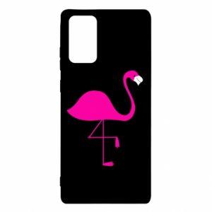 Etui na Samsung Note 20 Mały różowy flaming