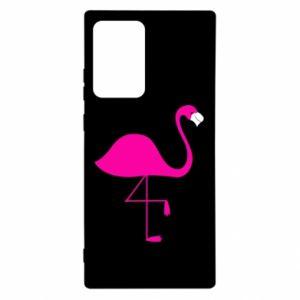Etui na Samsung Note 20 Ultra Mały różowy flaming