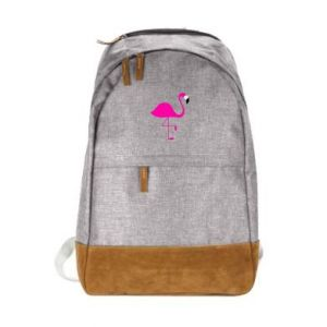 Miejski plecak Mały różowy flaming