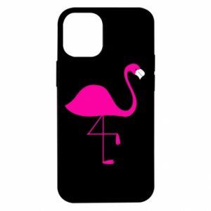 Etui na iPhone 12 Mini Mały różowy flaming