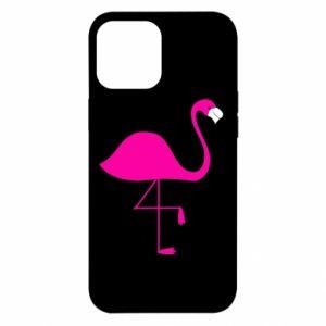 Etui na iPhone 12 Pro Max Mały różowy flaming
