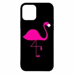Etui na iPhone 12/12 Pro Mały różowy flaming
