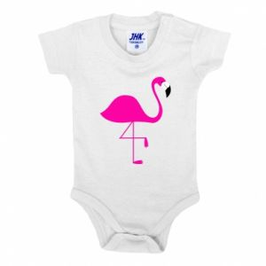 Baby bodysuit Little pink flamingo