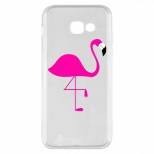 Samsung A5 2017 Case Little pink flamingo