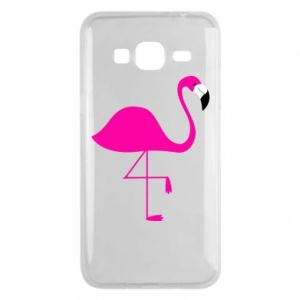 Samsung J3 2016 Case Little pink flamingo