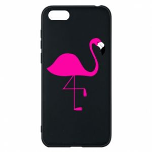 Huawei Y5 2018 Case Little pink flamingo