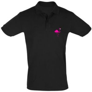 Men's Polo shirt Little pink flamingo