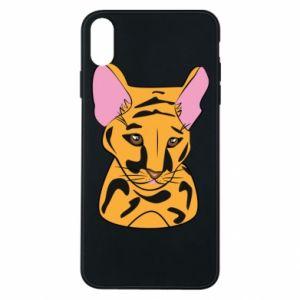 Etui na iPhone Xs Max Mały tygrys