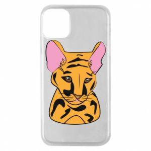 Etui na iPhone 11 Pro Mały tygrys