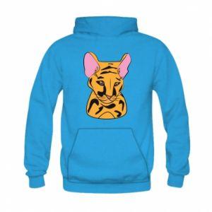 Bluza z kapturem dziecięca Mały tygrys