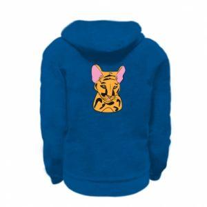 Bluza na zamek dziecięca Mały tygrys