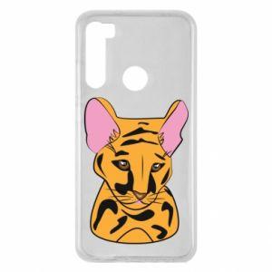 Etui na Xiaomi Redmi Note 8 Mały tygrys