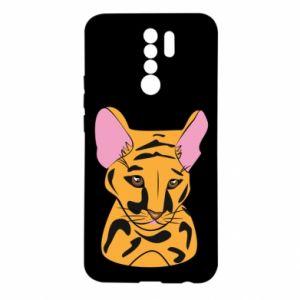 Etui na Xiaomi Redmi 9 Mały tygrys