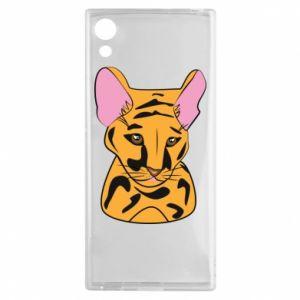 Etui na Sony Xperia XA1 Mały tygrys