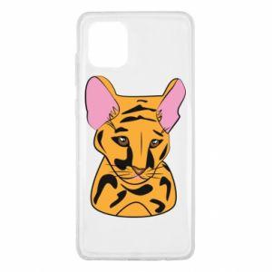 Etui na Samsung Note 10 Lite Mały tygrys