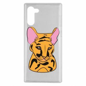 Etui na Samsung Note 10 Mały tygrys