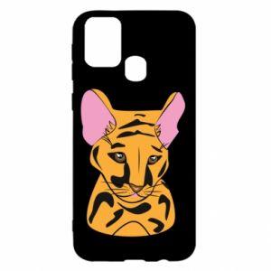 Etui na Samsung M31 Mały tygrys