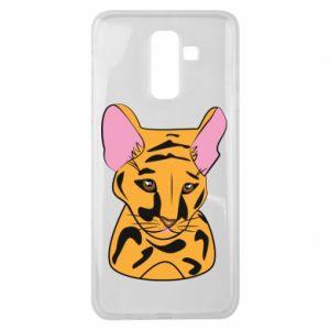 Etui na Samsung J8 2018 Mały tygrys