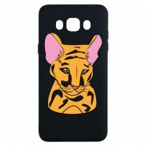Etui na Samsung J7 2016 Mały tygrys