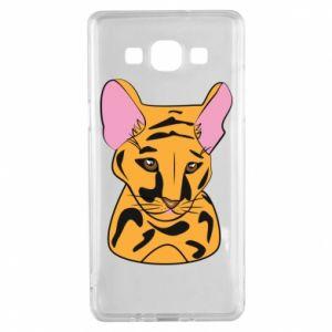 Etui na Samsung A5 2015 Mały tygrys