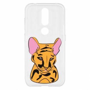 Etui na Nokia 4.2 Mały tygrys