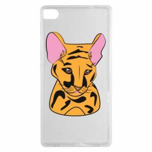 Etui na Huawei P8 Mały tygrys