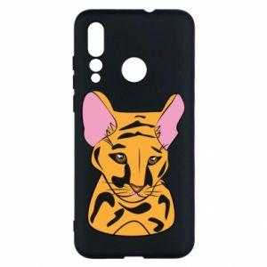 Etui na Huawei Nova 4 Mały tygrys