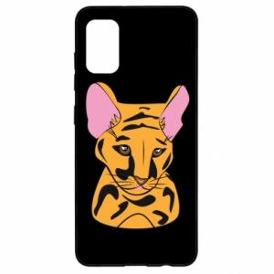 Etui na Samsung A41 Mały tygrys
