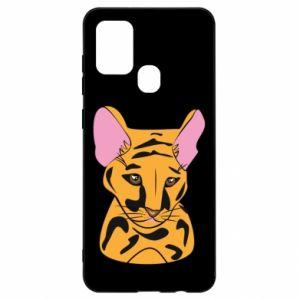 Etui na Samsung A21s Mały tygrys