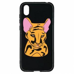 Etui na Huawei Y5 2019 Mały tygrys