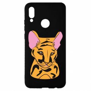 Etui na Huawei P Smart 2019 Mały tygrys