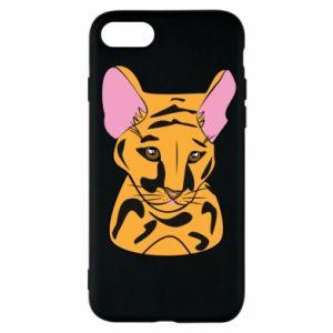 Etui na iPhone SE 2020 Mały tygrys