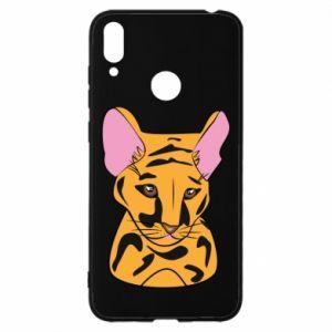 Etui na Huawei Y7 2019 Mały tygrys