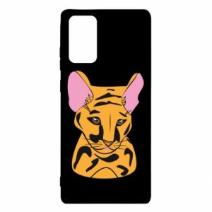 Etui na Samsung Note 20 Mały tygrys
