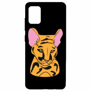 Etui na Samsung A51 Mały tygrys