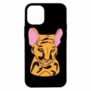 Etui na iPhone 12 Mini Mały tygrys