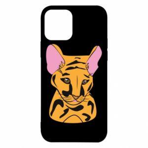 Etui na iPhone 12/12 Pro Mały tygrys