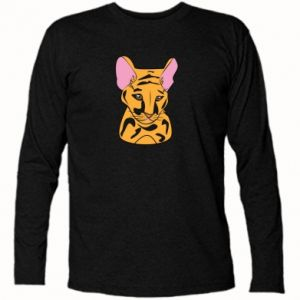 Koszulka z długim rękawem Mały tygrys - PrintSalon