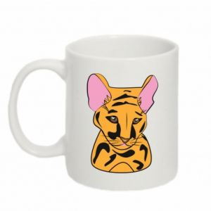 Kubek 330ml Mały tygrys - PrintSalon