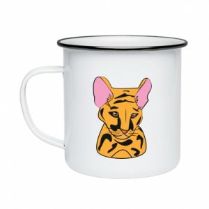 Kubek emaliowane Mały tygrys