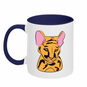 Kubek dwukolorowy Mały tygrys